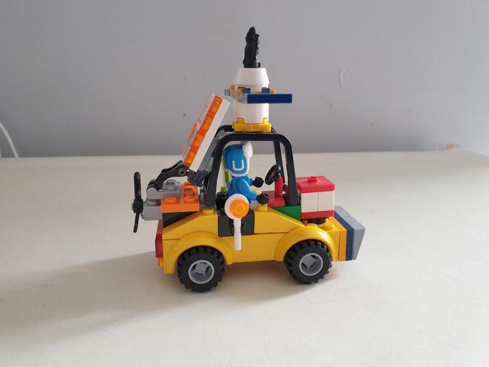 A fantastic 3d model using lego!