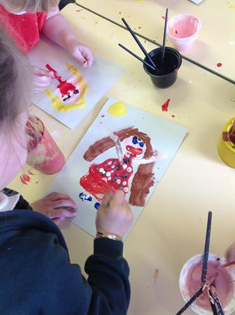 We enjoy painting
