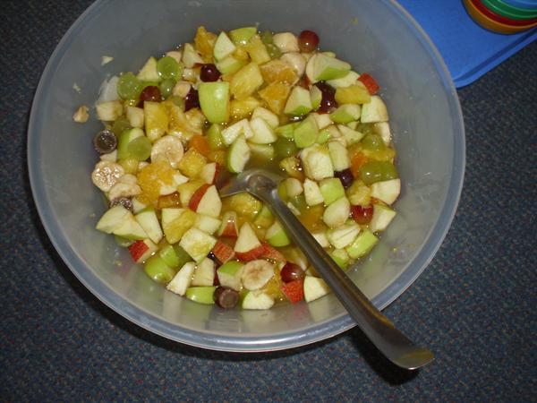 Harvest fruit salad.