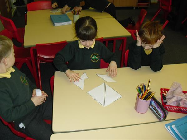 Chinese zodiac and tangrams