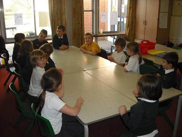 Our school council meetings take place each week.