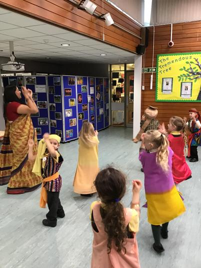 Time for some Bollywood dancing!