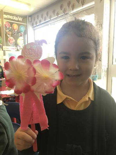 Beautiful flower fairy!