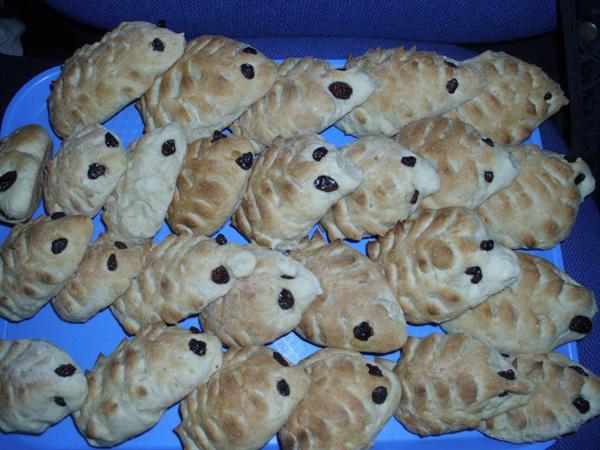 hedgehog bread!