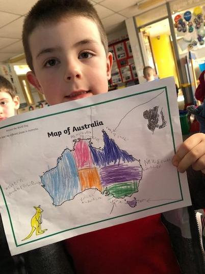 We learnned about the different parts of Australia