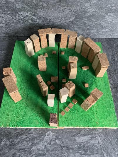 A fabulous model of Stonehenge