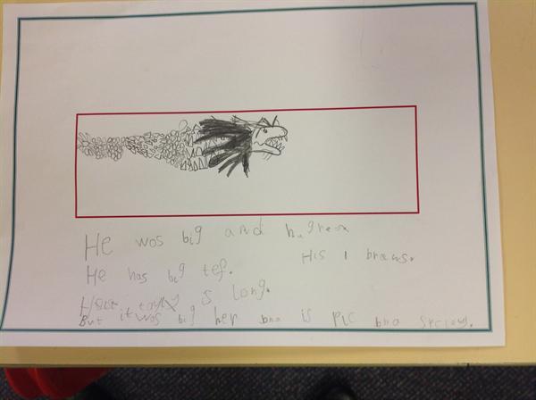 Take a look at this fantastic 'big write'