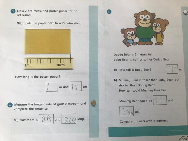 Some more maths work