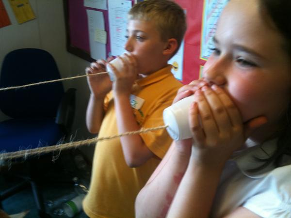 Science day with Miss Kelham