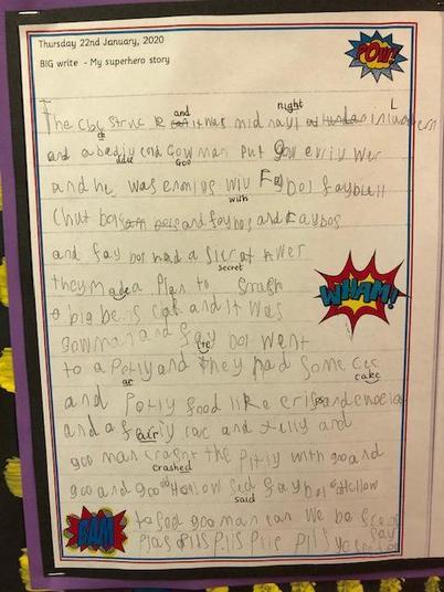 Superhero stories!