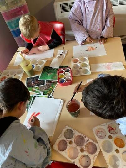We have been mixing powder paints