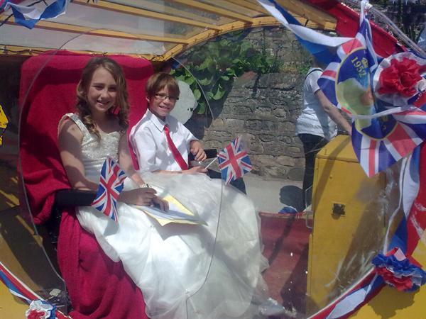 Carnival Queen and Escort