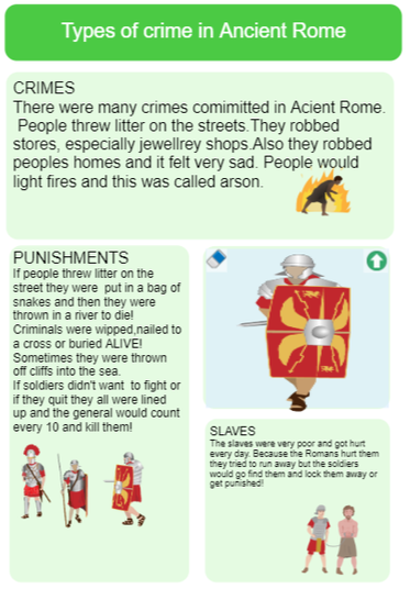 Interesting facts about crime in Ancient Rome.