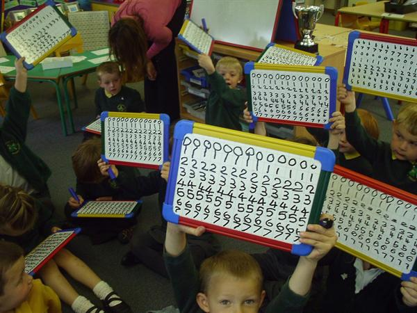 Fantastic number writing!