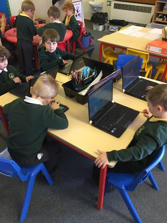 We enjoy using the laptops.