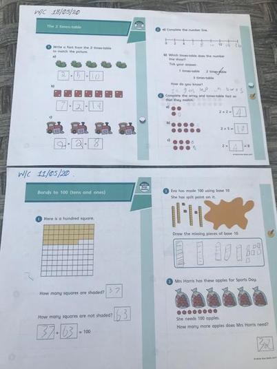 Fantastic maths work!