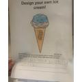 Wonderful ice-cream idea!
