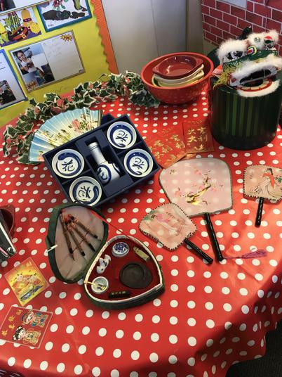 We had a look at a range of Chinese artefacts.
