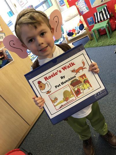 Book number 1 - Rosie's walk