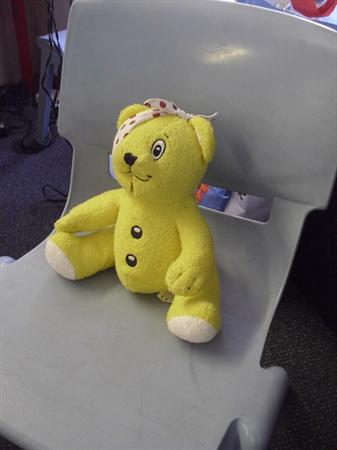 Welcome to our class Pudsey!