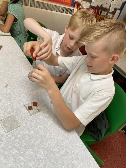 Which materials are magnetic?