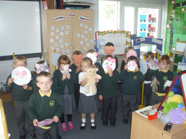 We have been making some masks!