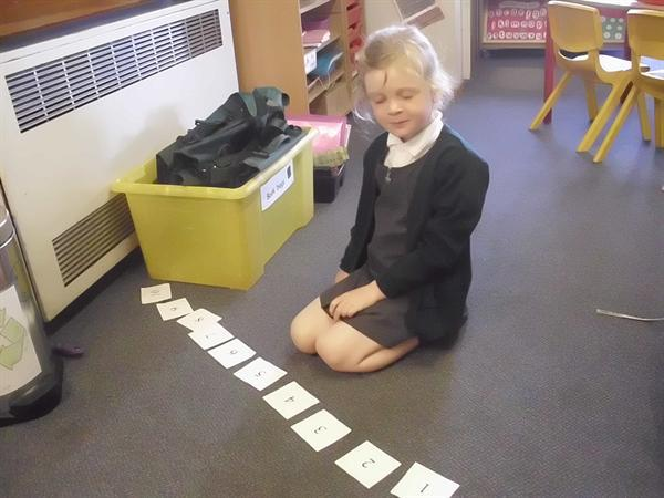 Ordering our numbers to 10