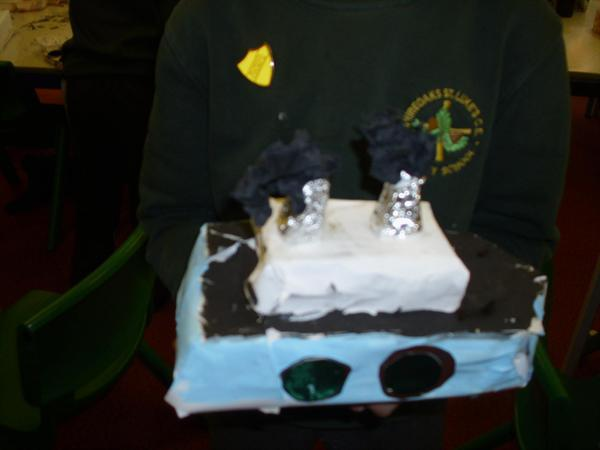 Our fantastic Titanic models!
