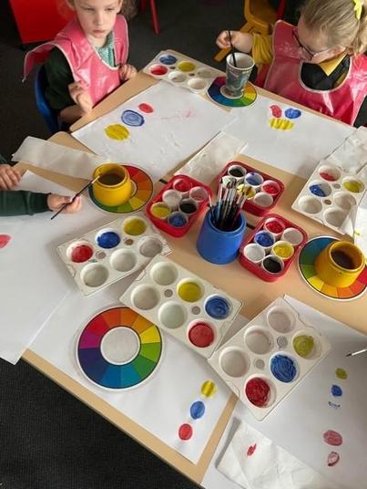 We love powder paints
