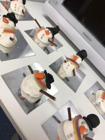 Look at our fantastic snowmen