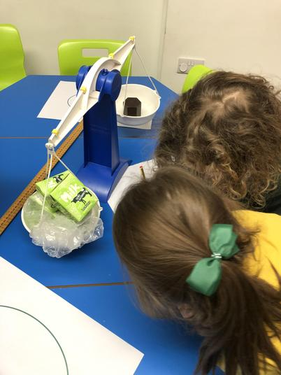 We tried to find objects that weighed the same