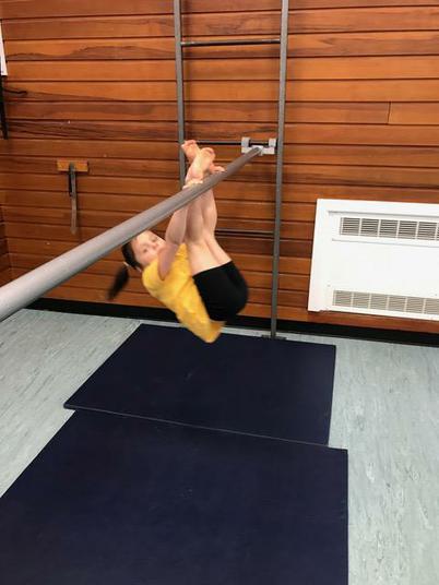 Amazing gymnastics!