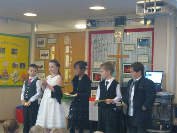 Some of Thoresby Class on 'Titanic' day