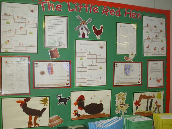 Our Little Red Hen work
