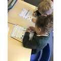 Busy with our phonics work