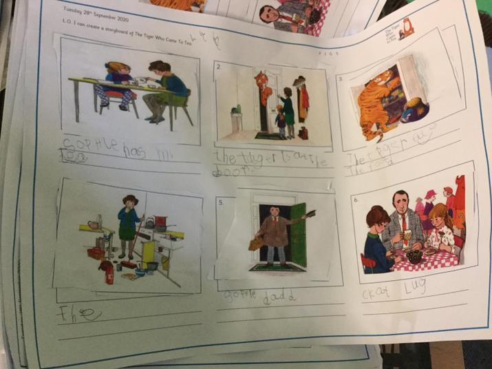 Excellent story boards