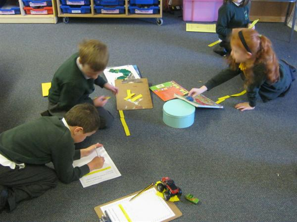 Some measuring work in Rufford Class