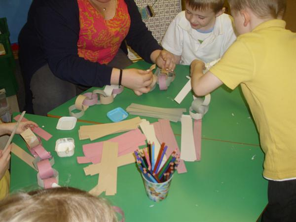 Making decorations - repeating patterns