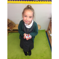 We made and decorated shortbread biscuits.