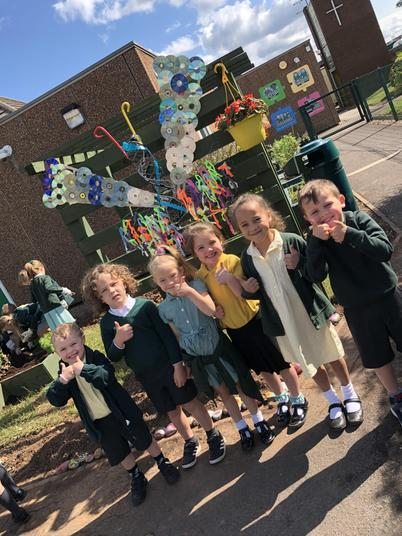 Look at our dazzling butterfly sculpture