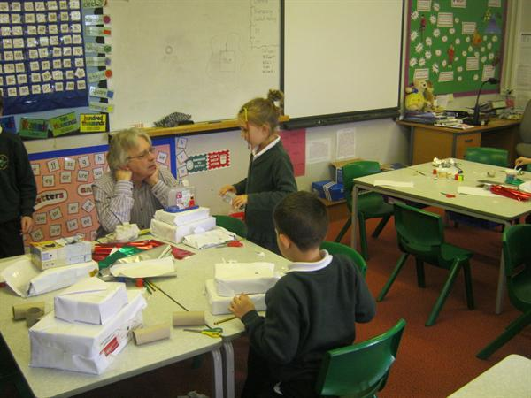 The children are able to discuss their learning.