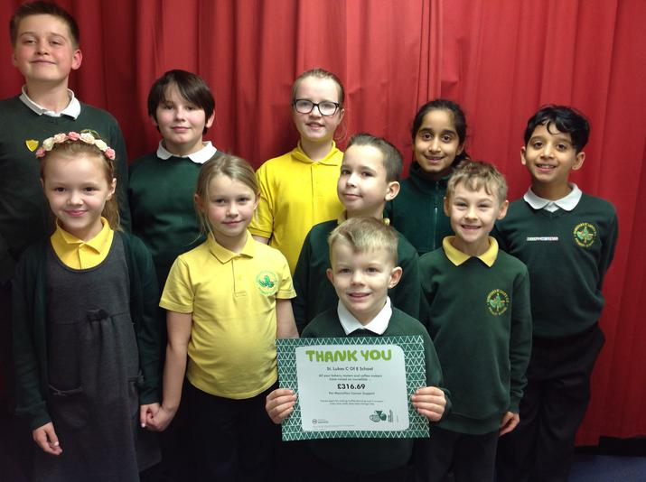 Our certificate from Macmillan