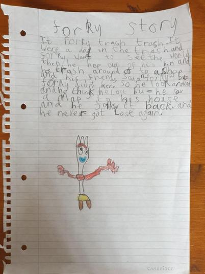 A story about Forky!