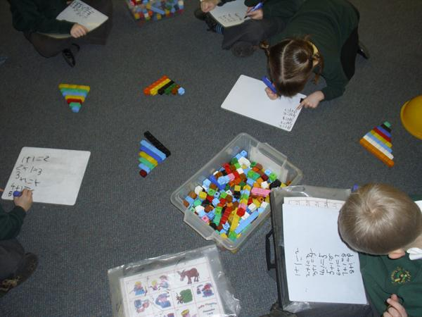 We made our number steps - Working out the pattern