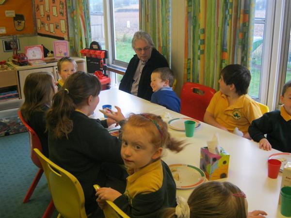 Mr Beckett enjoyed attending Breakfast Club.
