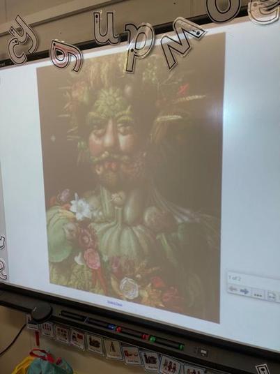 We studied the artist 'Arcimboldo'