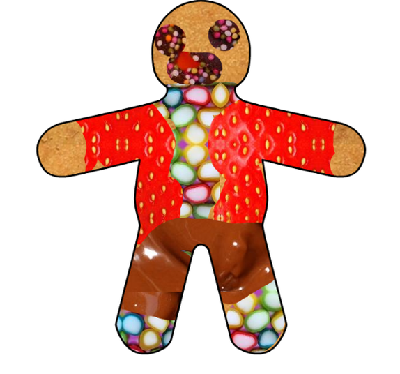 This gingerbread looks delicious!