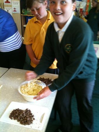 Baking our Jumbles!