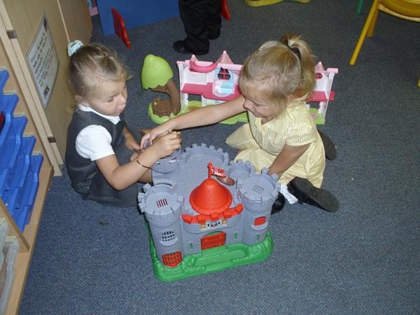 We love our castle!