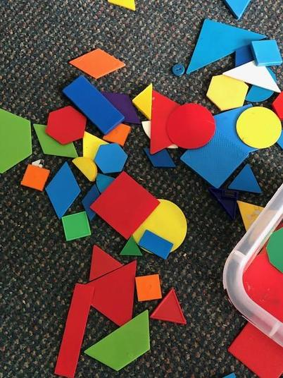 Can you name some of these shapes?